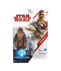 Figura-Articulada---18-Cm---Force-Link---Colecao-2---Disney---Star-Wars---Episodio-VIII---Chewbacca