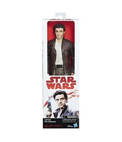Figura-Articulada---30-Cm---Disney---Star-Wars---Episodio-VIII---Poe-Dameron---Hasbro