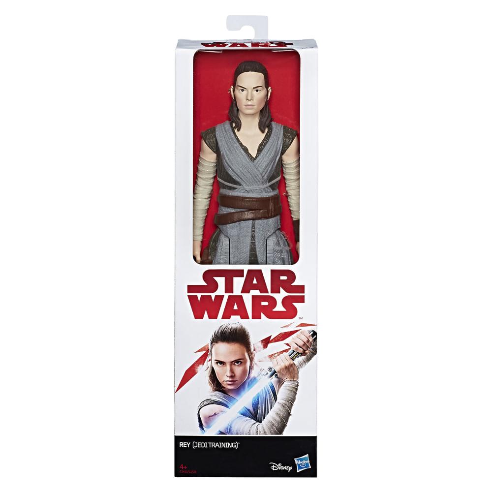 Figura Articulada - 30 Cm - Disney - Star Wars - Episódio VIII - Rey - Hasbro