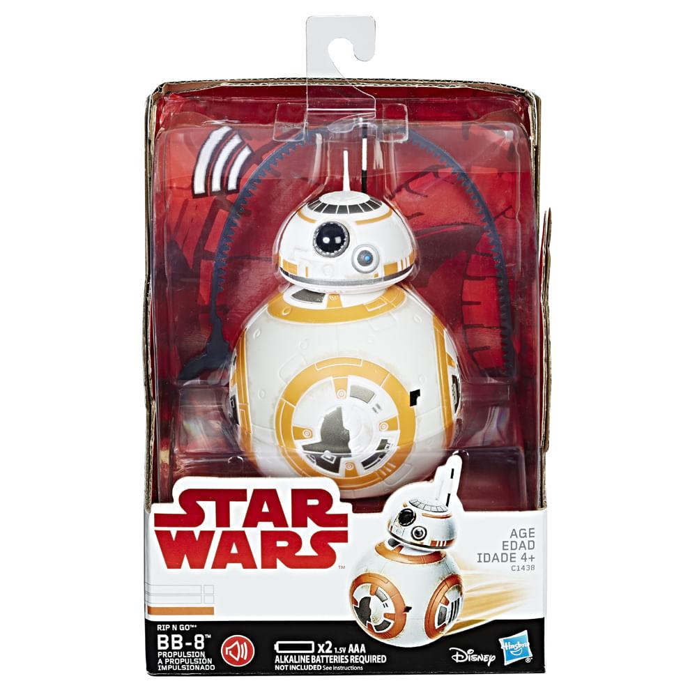 Mini Figura - Disney - Star Wars - Episódio VIII - BB8 - Rip 'N Go - Hasbro