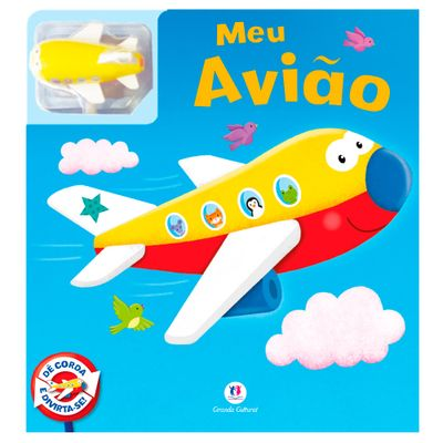 Livro-Infantil---Colecao-Ler-e-Brincar---Meu-Aviaozinho---Ciranda-Cultural
