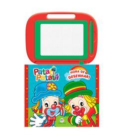 Livro-Infantil-e-Lousa-Magica---Patati-Patata---Ciranda-Cultural-