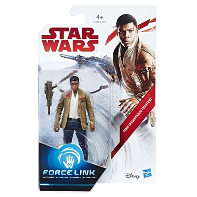 Figura-Articulada---18-Cm---Force-Link---Colecao-1---Disney---Star-Wars---Episodio-VIII---Finn---Hasbro