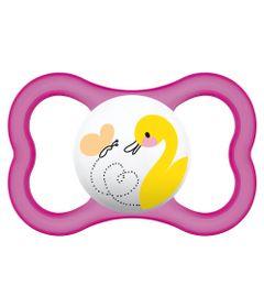 Chupeta-Air-Silk-Touch-Girls---Acima-de-6-Meses---Rosa-Patinho---MAM
