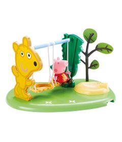 Playset-e-Mini-Figuras---Peppa-Pig---Peppa-Hora-de-Brincar---Balanco---DTC