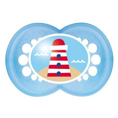 Chupeta-Pearl-Silk-Touch-Boys---Fase-2---Azul---Farol-na-Ilha---MAM