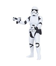 Figura-Articulada---10-Cm---Force-Link---Colecao-1---Disney---Star-Wars---Episodio-VIII---First-Order-Stormtrooper---Hasbro