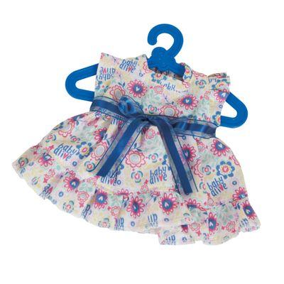 Acessorios-de-Boneca---Baby-Alive---Vestido-Floral-com-Lacinho---Cotiplas