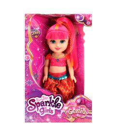 Boneca-Articulada---Funville-Sparkle-Girlz---Genie-Pink---DTC