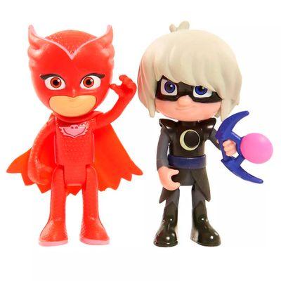 Figuras-Articuladas-com-Luzes---PJ-Masks---Corujita-e-Inimigo---DTC