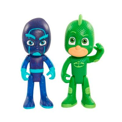 Figuras-Articuladas-com-Luzes---PJ-Masks---Largatixo-e-Inimigo---DTC