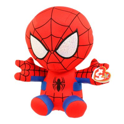 Pelucia-Beanie-Babies---40-Cm---Disney---Marvel---Spider-Man---DTC