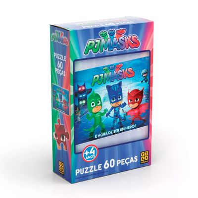Quebra-Cabeca---60-Pecas---PJ-Masks---Grow