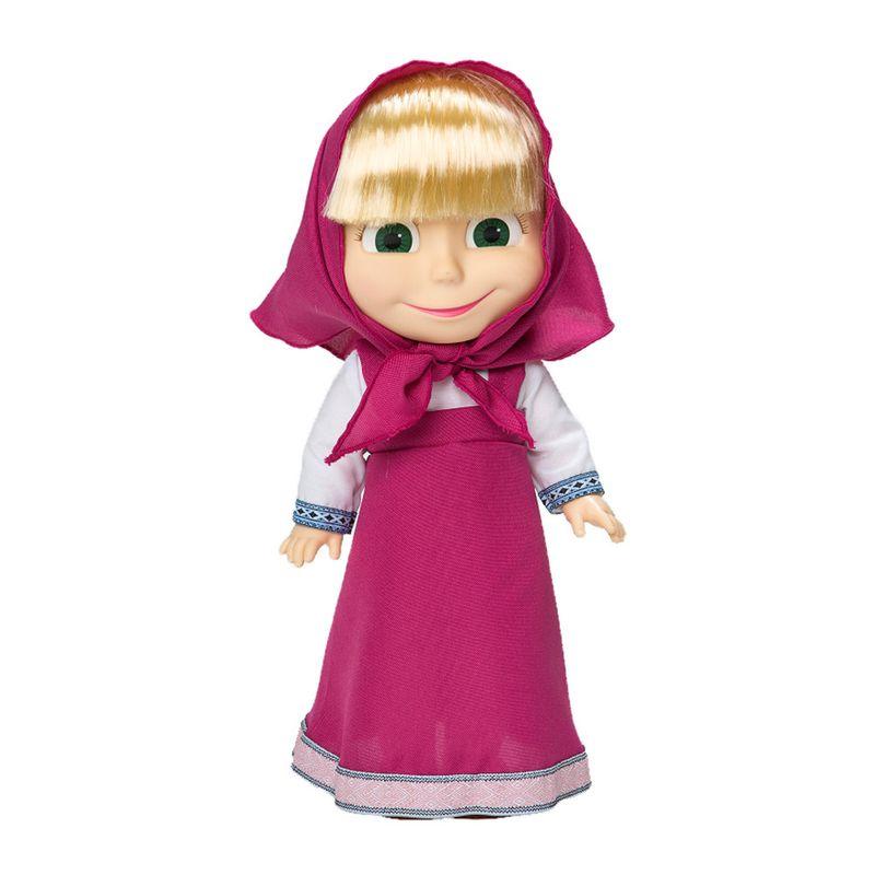 929baa074a Boneca 35 Cm - Masha e o Urso - Masha com Sons - Estrela - Ri Happy  Brinquedos
