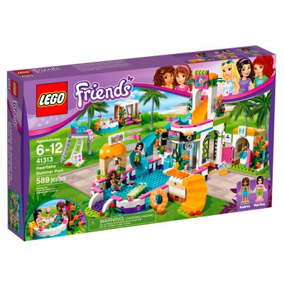 LEGO-Friends---Verao-na-Piscina---41313