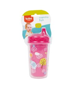 Copinho-Fun-250ml---Rosa---Buba