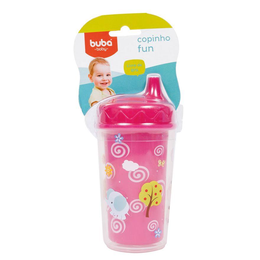 Copinho-Fun-250ml---Rosa---Buba