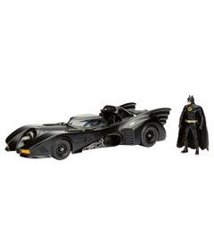 Figura-e-Veiculo-Die-Cast---Metals---DC-Comics---Batman-e-Batmovel---DTC