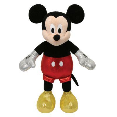Pelucia-Beanie-Babies---40-Cm---Mickey-Mouse---Disney---DTC