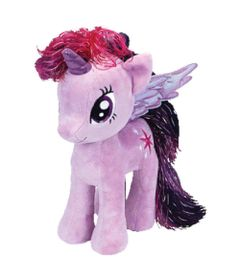 Pelucia-Beanie-Babies---40-Cm---My-Litte-Pony---Twilight-Sparkle---DTC