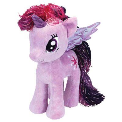 Pelucia-Beanie-Babies---40-Cm---My-Litte-Pony---Twilight-Sparkle---DTC