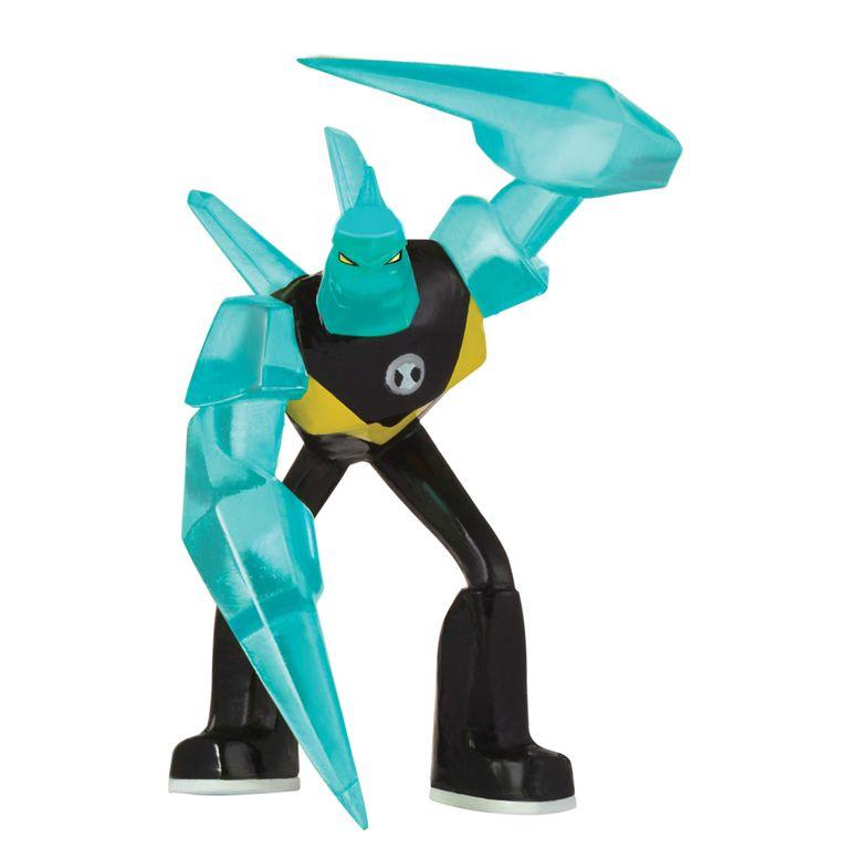 Mini Figura 5 Cm Ben 10 Diamante Sunny Ri Happy Brinquedos