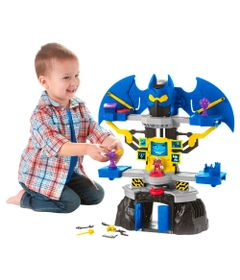 Playset-e-Mini-Fuguras---Mega-Batcaverna-de-Combate---Imaginex-DC-Super-Friends---Fisher-Price