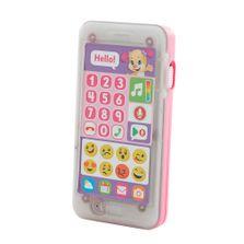 Telefone-Emojis---Primeiras-Palavras---Aprender-e-Brincar---Irmazinha---Fisher-Price