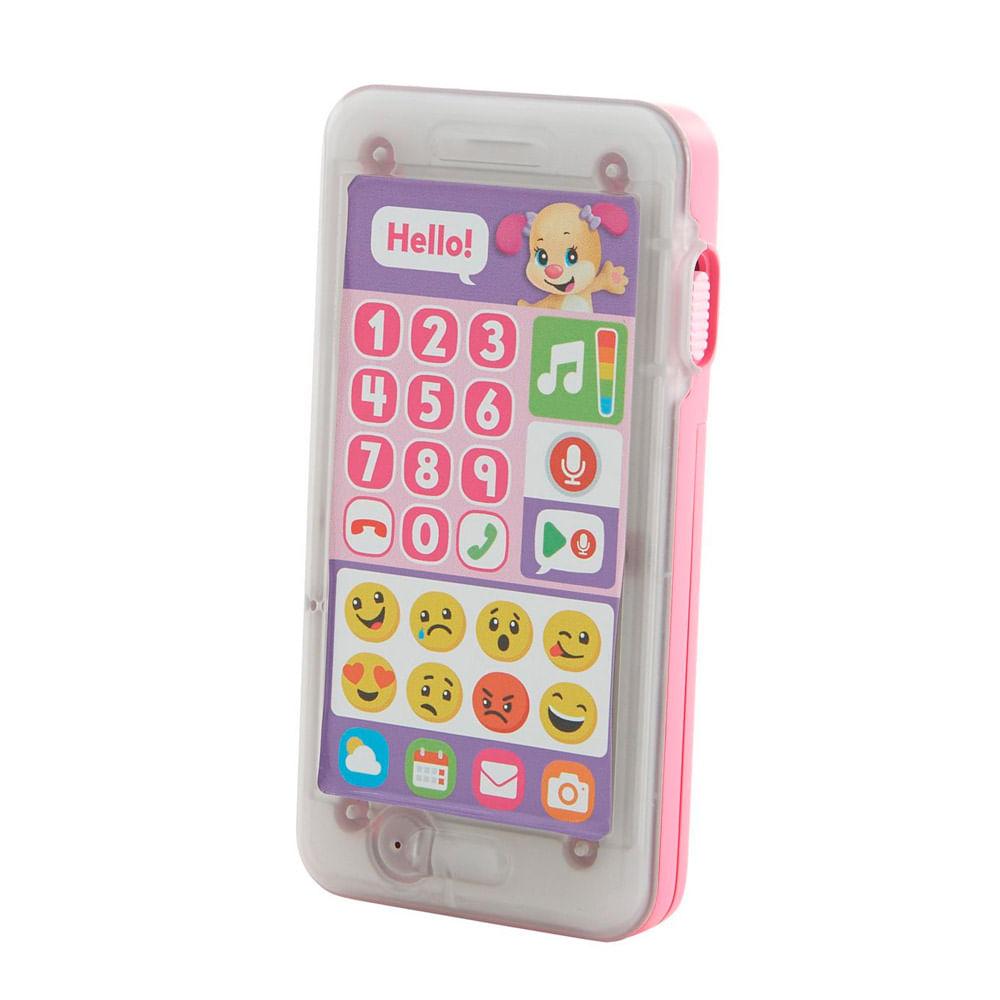 Telefone Emojis - Primeiras Palavras - Aprender e Brincar - Irmãzinha - Fisher-Price