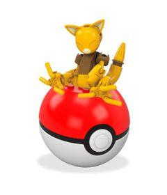 Bloco-de-Montar---Mega-Construx---Pokemon---Pokebola---Abra---Mattel