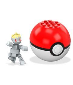 Bloco-de-Montar---Mega-Construx---Pokemon---Pokebola---Machop---Mattel