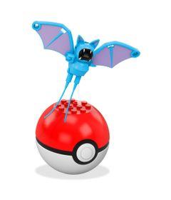 Bloco-de-Montar---Mega-Construx---Pokemon---Pokebola---Zubat---Mattel