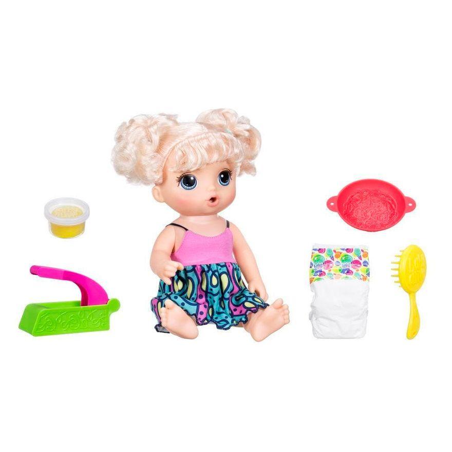 Boneca-Baby-Alive-Loira-Adoro-Macarrao-Hasbro-Frente