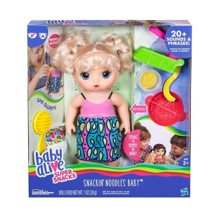 Boneca-Baby-Alive-Loira-Adoro-Macarrao-Hasbro-Embalagem