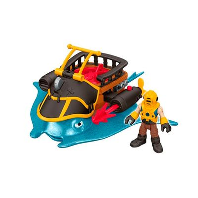 Playset-Imaginext---Capitao-Neno---Stingray---Fisher-Price
