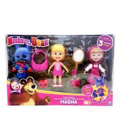 Conjunto-de-Bonecas---Masha-e-o-Urso---Masha-com-Roupinhas-Trocaveis---Conjunto-4---Sunny