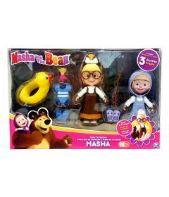 Conjunto-de-Bonecas---Masha-e-o-Urso---Masha-com-Roupinhas-Trocaveis---Conjunto-3---Sunny