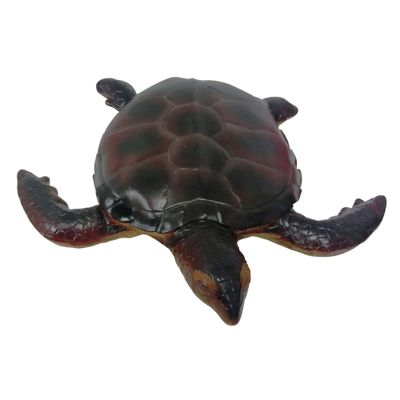 Figuras-em-PVC---Bicho-Mundi---Animais-do-Mundo---Tartaruga-Marrom---DTC