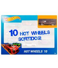Carrinhos-Hot-Wheels---Pacote-com-10-Carros---P---Mattel