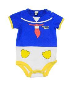 Body-Fantasia-Manga-Curta-em-Cotton---Azul-e-Branco---Pato-Donald---Disney---P
