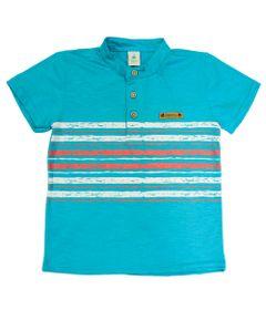 Camiseta-Manga-Curta-em-Malha-Flame---Verde---Tigrao---Jardim-Tropical---Disney---1