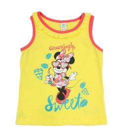 Camiseta-Regata-em-Malha-Flame---Amarela---Minnie---Jardim-Tropical---Disney---3
