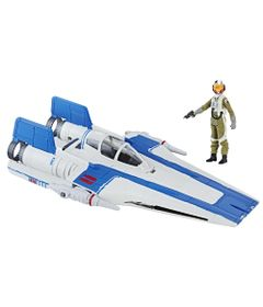 Figura-e-Veiculo---Disney---Star-Wars---Episodio-VIII---Force-Link---X-Wing-e-Piloto-da-Resistencia---Hasbro