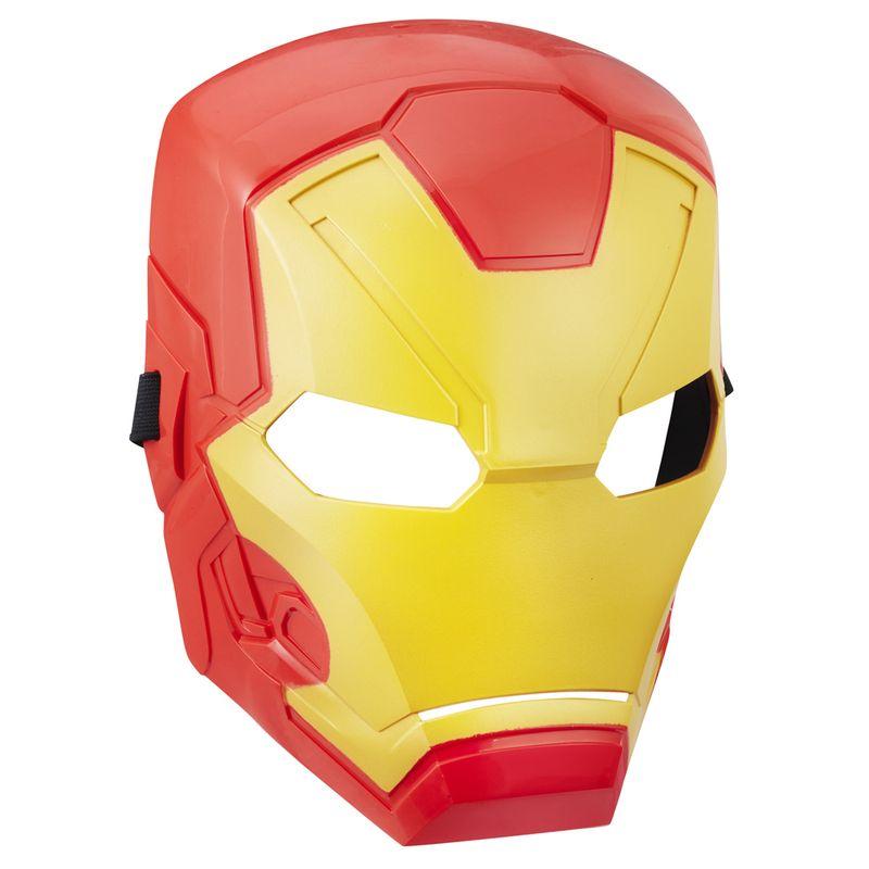 04f48d54dd Máscara Básica - Disney - Marvel - Capitão América - Guerra Civil - Iron  Man - Hasbro - Ri Happy Brinquedos