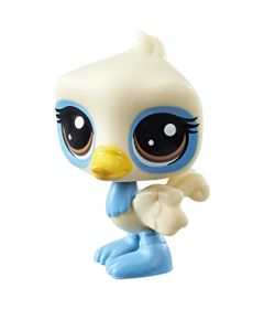 Mini-Boneca-Littlest-Pet-Shop---Serie-1---Azure-O-Strich---Hasbro