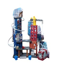 Playset-e-Figuras---1-Metro---Disney---Marvel---Spider-Man---Mega-Cidade---Hasbro