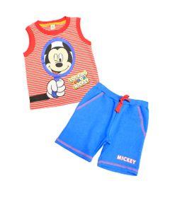 Conjunto-Machao-com-Bermuda---Azul-e-Vermelho---Be-Mickey---Disney---1-Frente