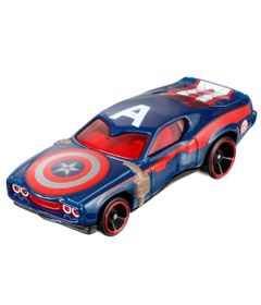 Carrinho-Hot-Wheels-Marvel---Capitao-America---Mattel