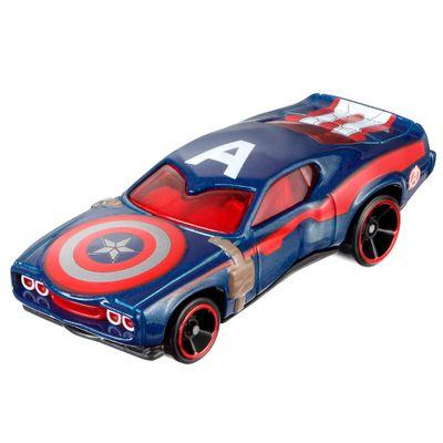 Carrinho-Hot-Wheels-Marvel---Capitao-America---Mattel