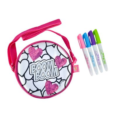 Bolsa-Friendly-e-5-Canetinhas---Color-Me-Mine---Redonda---DTC